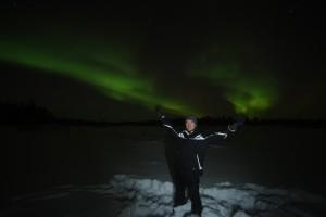 The Aurora Borealis, Finland