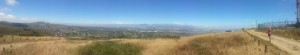 View of Durbanville from Loevenstein